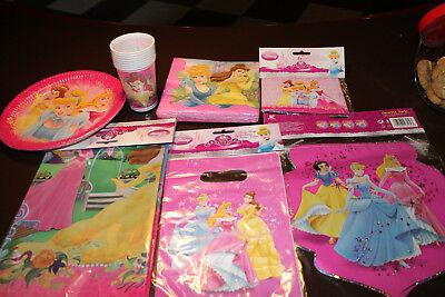 Kinder Party Set Princess, 50 Teile, Disney, Kindergeburtstag, Partyset