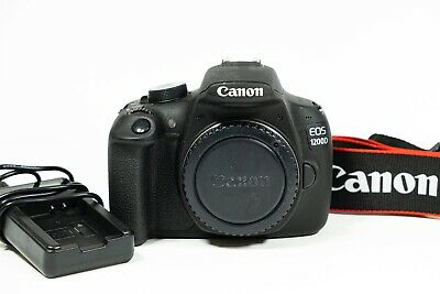 Canon EOS 1200D 18.0MP Digital SLR Camera body - Shutter Count only 1,077 shots