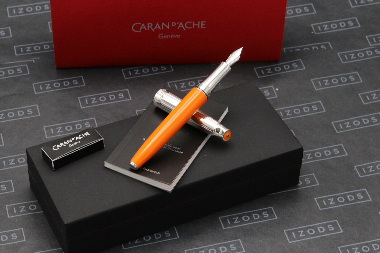 Caran d'Ache Leman Bicolor Saffron Fountain Pen