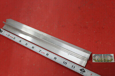 2 Pieces 34 X 34 X 18 Aluminum 6061 Angle Bar 12 Long T6 Mill Stock