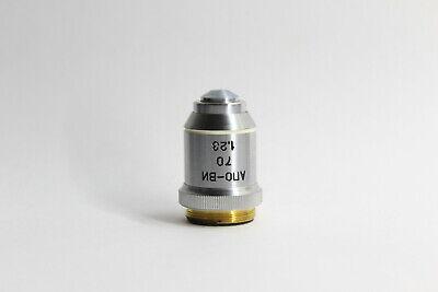 Lomo Microscope Polarising Objective Apochromat 70x 1.23 Water Fluor Imm Rms