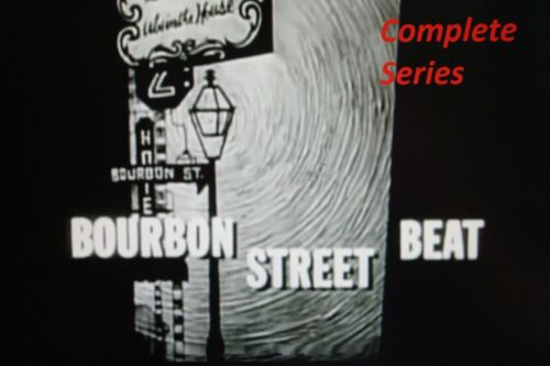 Bourbon Street Beat /  television show /  Complete series / dvd