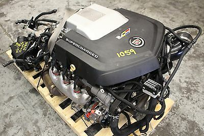 2012 CADILLAC CTS-V SEDAN OEM ENGINE & TRANSMISSION SWAP LSA 6.2L AUTO 86,554