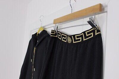 Versace Jacquard Gold & Black Full Tracksuit