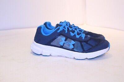 Boys Under Armour tennis shoes Size 5Y Blue