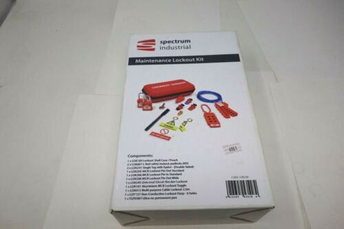 Spectrum Industrial Maintenance Lockout Kit *NEW* (Free Shipping)