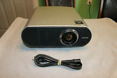 Sony VPL-HS51 Cineza LCD Front Projector Tested, Works great