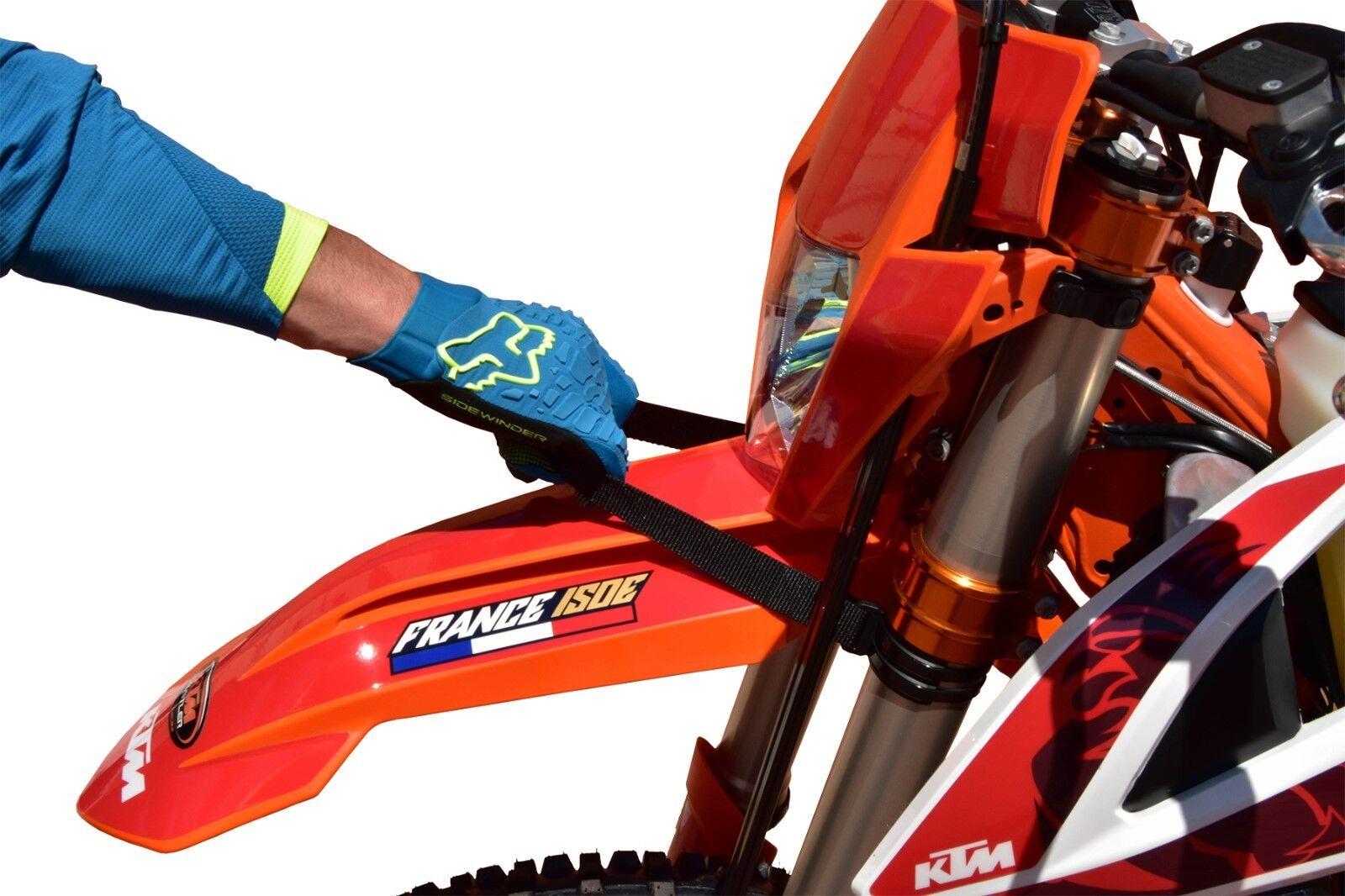 Orange Kr/ümmerschutz Hitzeschutz/_Enduros Enduro Universell Auspuffschutz