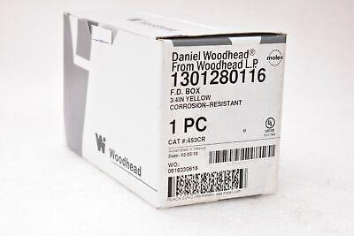 Molex Daniel Woodhead 1301280116 Fd Box 34 Yellow Corrosion-resistant 453cr
