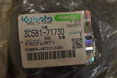 Kubota 3c581-71730 Rubber Cab Mount Oem Part