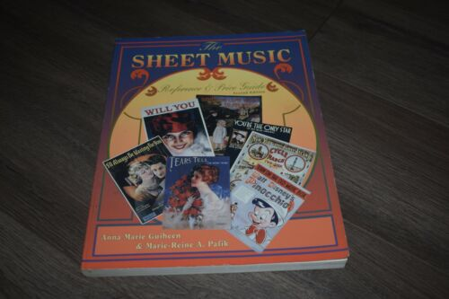 The Sheet Music Reference & Price Guide by Guiheen & Pafik 1995 2nd edition