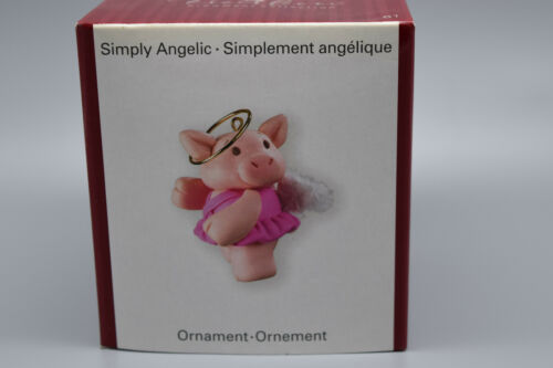 "American Greetings Heirloom Ornament ""Simply Angelic""  New Old Stock #61"