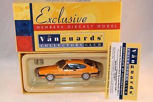 Vanguards-Corgi-VA10811-Ford-Capri-signal-Amber-members-model-1-43-mint-in-box