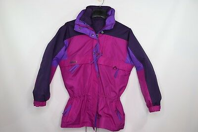 Vintage 90s New Columbia Womens Medium Gizzmo 4 In 1 Winter Parka Jacket Pink 4in 1 Parka