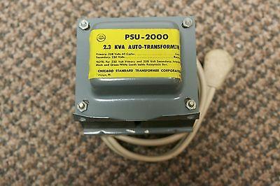 Stancor Psu-2000 208v Pri230v Sec 2.3kva Power Transformer