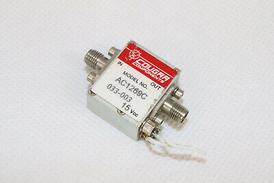 Microwave Low Noise Amplifier Cougar Ac1269c 10mhz-1.4ghz 20db Sma Rf