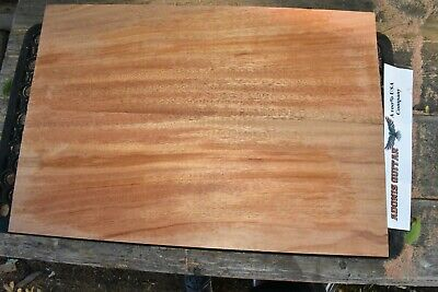 "2pc Mahogany Guitar, Bass Body Blank BACK, Luthier, 23 x16 x1.1"" Killer Tone!"