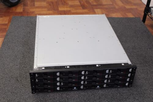 "Xiotech 16 Bay Storage Array 10TB 3.5"" HDD 2x PSU 2x Controller Read Descr*"