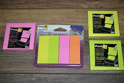 Post-it Page Markers 1 X 3 50 Per Pad 4pk 200pk 3 100 Count Pads