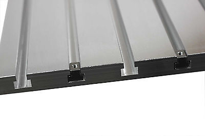 T-slot Plate Aluminum T-track Metalworking Tooling Fixture Plate 20x16