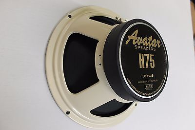 New Avatar H75 Guitar amp cabinet Speaker   Made in England by Fane 8 ohm