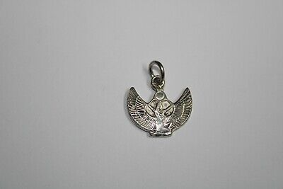 925 Sterling Silver Vintage Anson Real Ruby Gem Twenty Years Charm Pendant