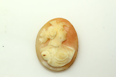 God And Goddess Costume (Right Facing God or Goddess Peach and Ivory Color Cameo 4.4grams)