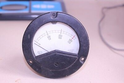 Vintage Panel Meter - Weston Model 2531 - Steampunk