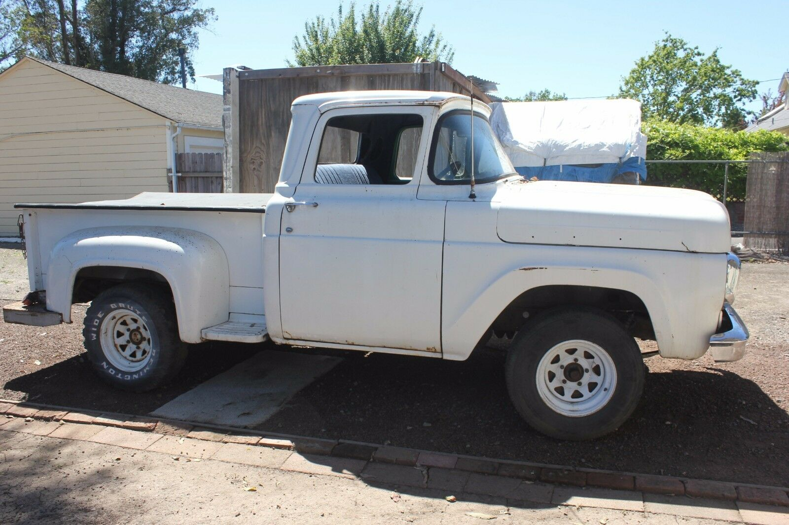 1960 Ford F100 Stepside California Truck With No Reserve