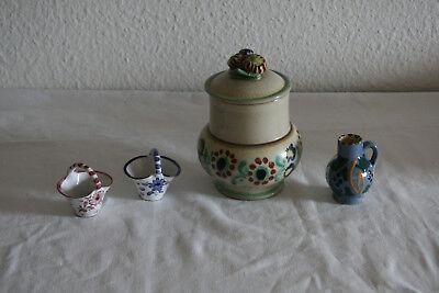 Nostalgische  Keramikgefäße
