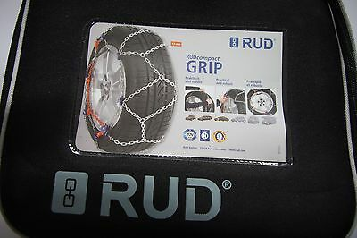 RUD Compact Grip Schneekette Größe 4050 4716964 215/55-17 Satz neu