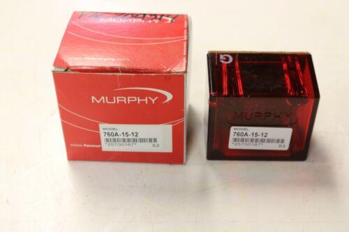 760A-15-12  MURPHY SWITCH  25700167