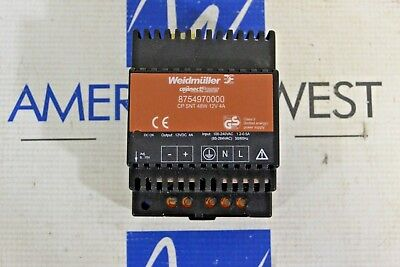 Weidmuller 8754970000 Cp Snt 48w 12v 4a New Power Supply