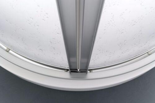 75 x 75 cm Profili Argento Satinato GRANISUD Box Doccia in Acrilico 3 mm Semicircolare con Apertura Scorrevole