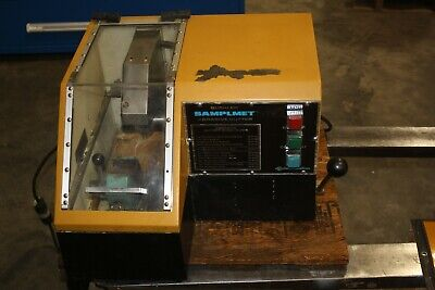 Buehler Samplmet 9 Abrasive Cutter Saw With Coolant Circulation Tank Filter