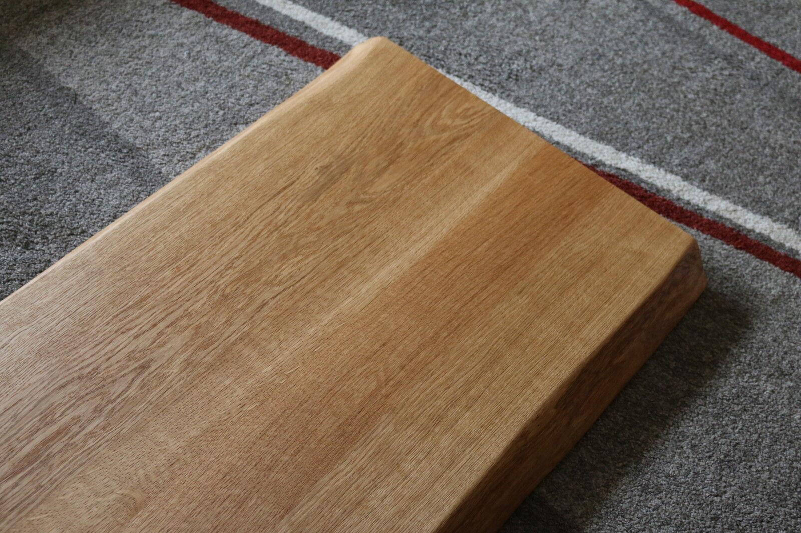Tischplatte Platte Eiche Massiv Holz Tisch Brett Leimholz