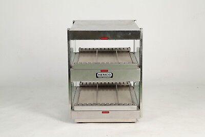 Nemco 6480-18s 18 Self-service Countertop Heated Food Display Warmer