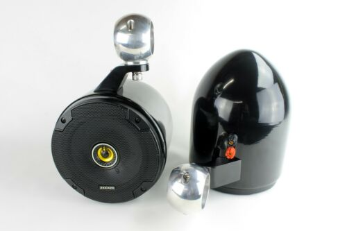 "Kicker Wakeboard Tower Speakers 6.5"" - NEW-Black !! UTV, JEEP, RZR, CART"