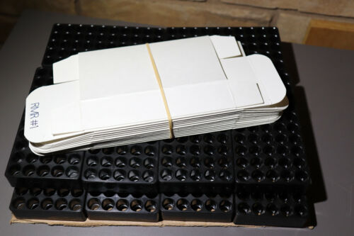 9mm Empty Trays, Boxes and Labels (Qty 12)