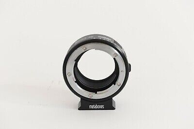 Metabones Nikon G (or F) Mount Lens to Sony E NEX Professional Adapter - MINT