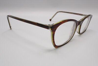 L.A. Eyeworks One Pair Peak Rx Eyeglasses Frames 47[]19-135 Brown Stripe 8871 for sale  Concord
