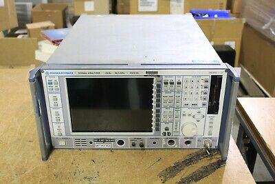 Rohde Schwarz Fsiq26 B18 Vector Signal Analyzer 26.5 Ghz As Is