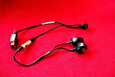 Trimble Gps Dgps Pro Xrxrs Data Cable Dual Battery Clip Pn 30231-00 Rev A Dc