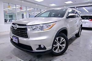 2015 Toyota Highlander AWD LE, ONE OWNER, NON SMOKER, SERVICE HI