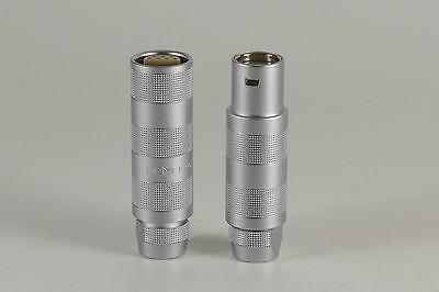 1 Pair Genuine Lemo Connectors Mf Ffa.3s Pca.3s 14 Contacts -quantity New