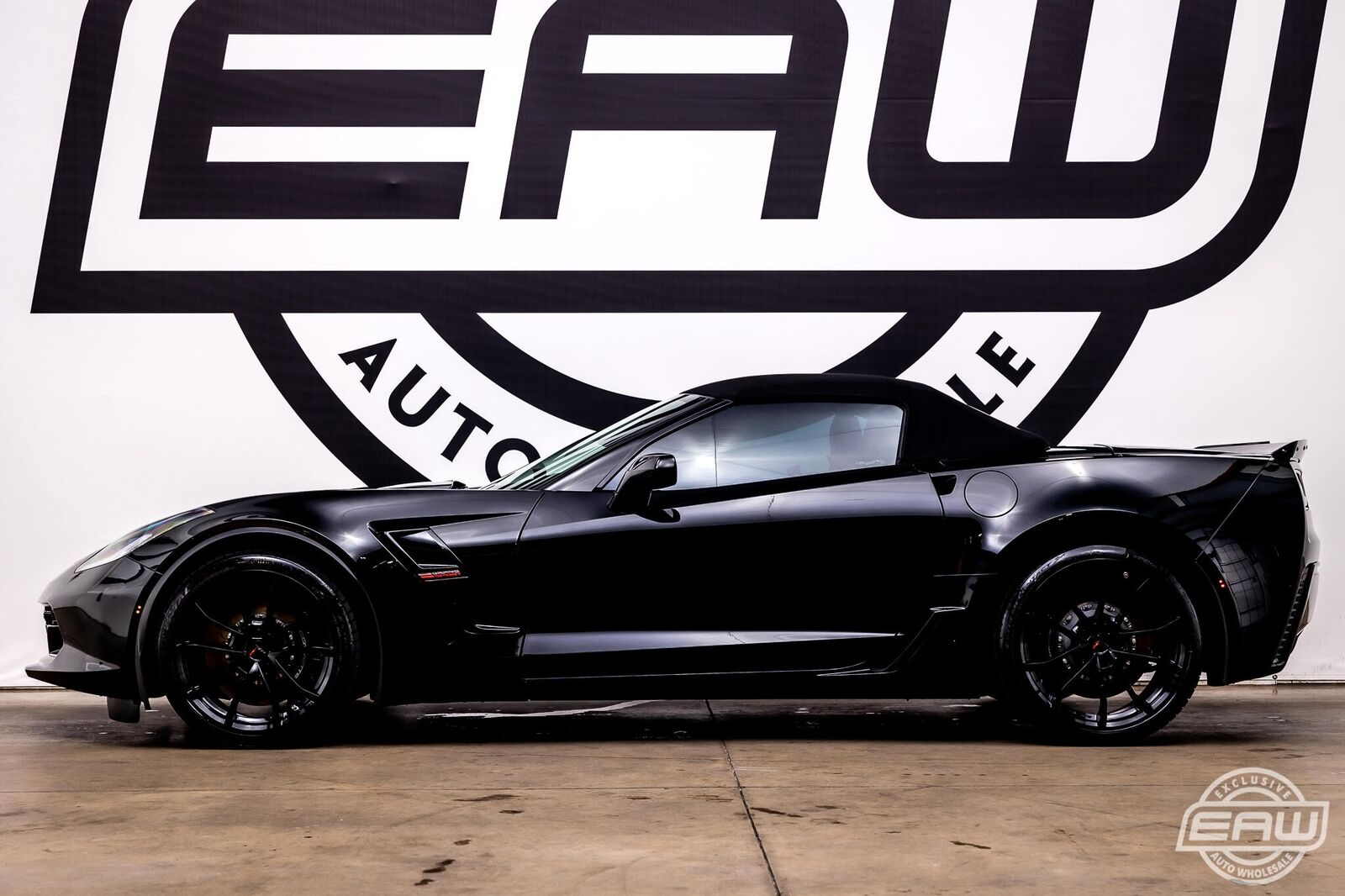 2019 Black Chevrolet Corvette Convertible 2LT | C7 Corvette Photo 7