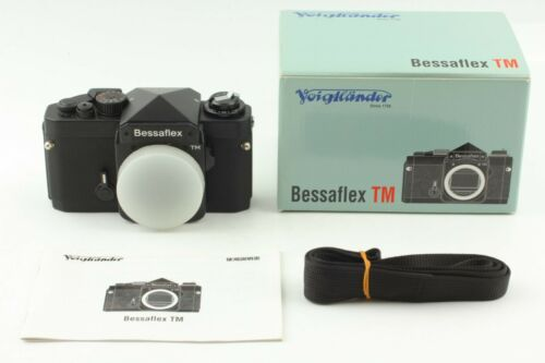 【TOP MINT BOXED】Voigtlander Bessaflex TM Black Film Camera from Japan 412