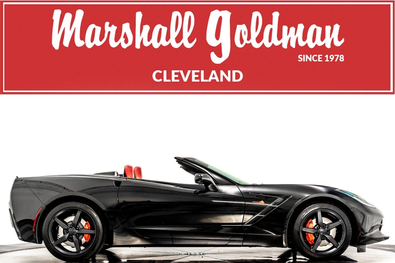 2014 Black Chevrolet Corvette Convertible 2LT   C7 Corvette Photo 1