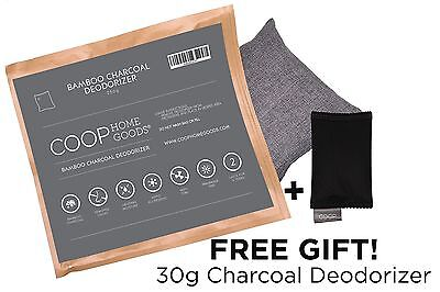 Coop Home Goods - Natural Moso Bamboo Charcoal Deodorizer