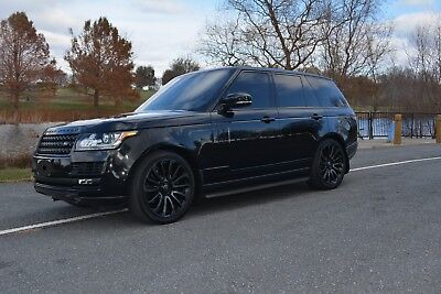 2015 Land Rover Range Rover SUPERCHARGED ONLY 18K MILES! 2015 RANGE ROVER SUPERCHARGED BLACK SERIES MSRP: $130K
